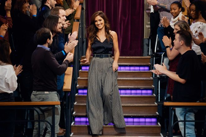 Minka Kelly – 'The Late Late Show with James Corden' in LA