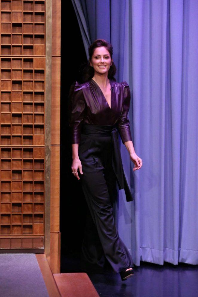 Minka Kelly - 'The Tonight Show Starring Jimmy Fallon' in NYC