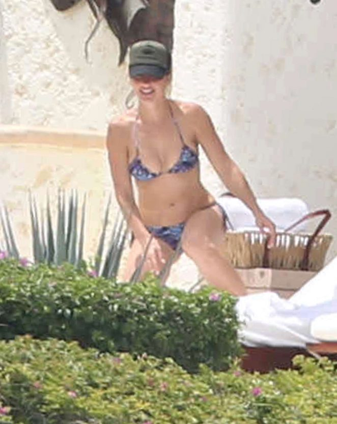 Minka Kelly - Wearing a Bikini in Cabo San Lucas