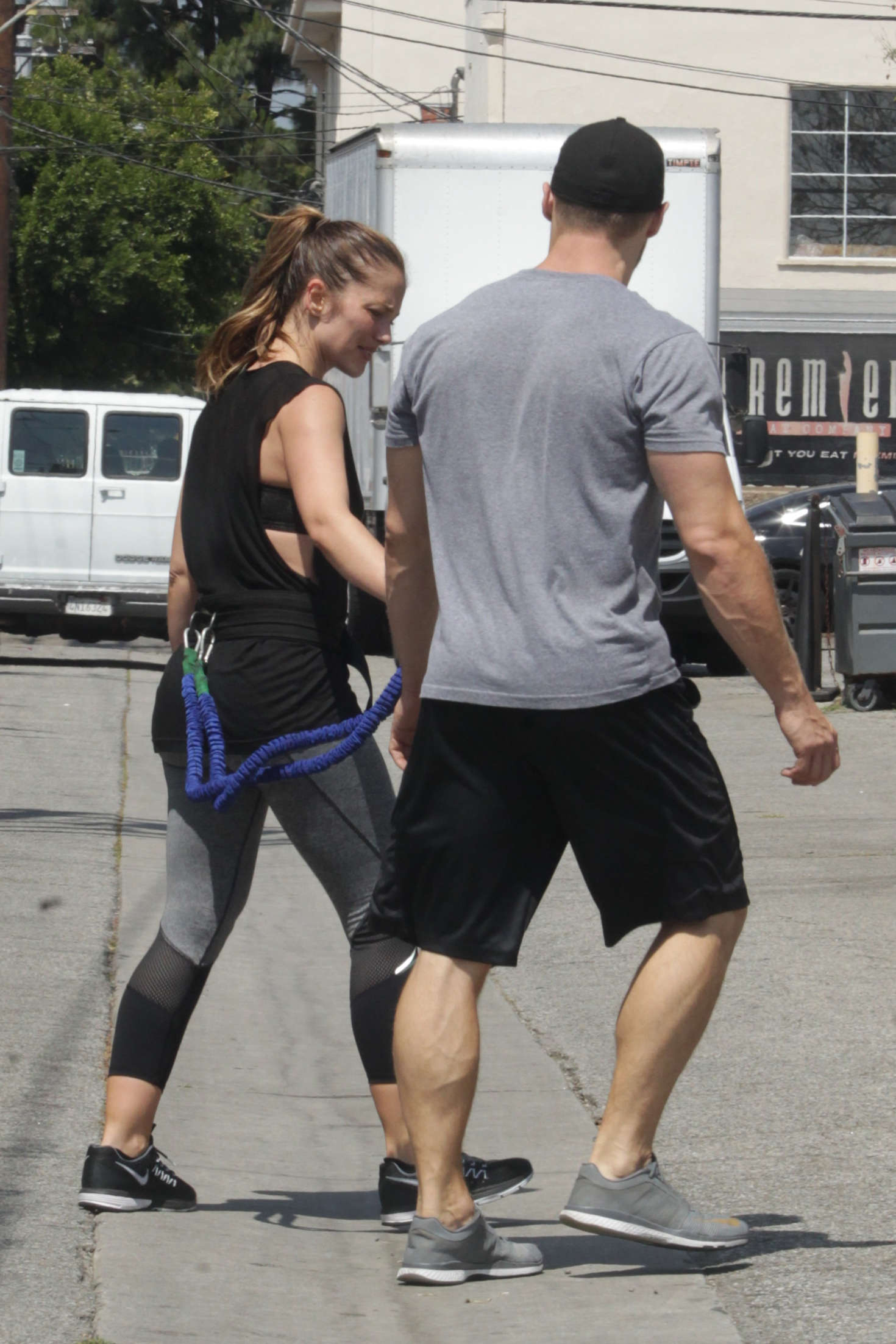 Minka Kelly 2016 : Minka Kelly: Working Out in Beverly Hills -10
