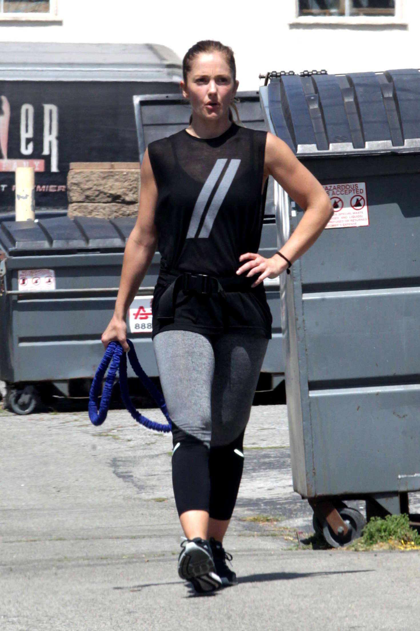 Minka Kelly 2016 : Minka Kelly: Working Out in Beverly Hills -16