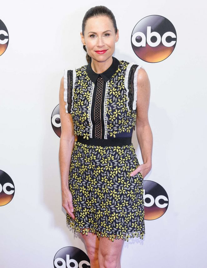 Minnie Driver – 2016 ABC Upfront in New York