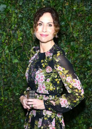 Minnie Driver - 2018 Charles Finch x Chanel Pre-Bafta Party in London