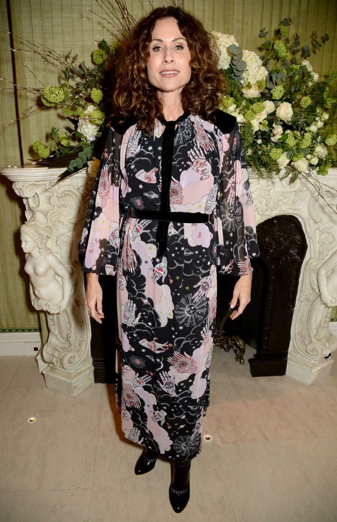 Minnie Driver – British Vogue Fashion and Film Party 2018 in London