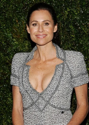 Minnie Driver - Chanel Dinner in NYC