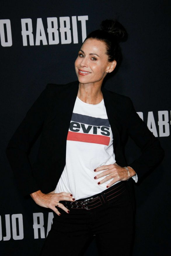 Minnie Driver - 'Jojo Rabbit' Premiere in Los Angeles