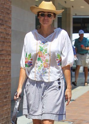 Minnie Driver out in Beverly Hills