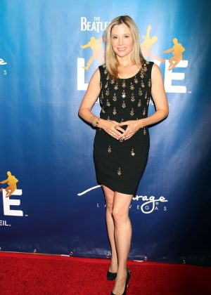 Mira Sorvino - 10th anniversary Celebration of 'The Beatles LOVE' in Las Vegas