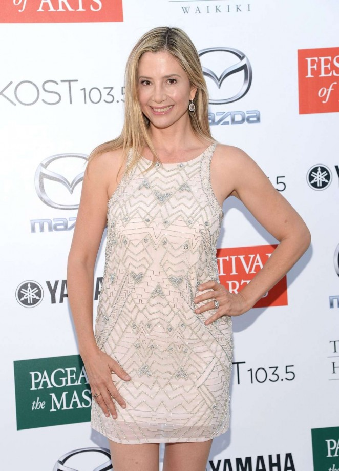 Mira Sorvino - 2015 Festival of Arts Benefit Concert and Pageant in Laguna Beach