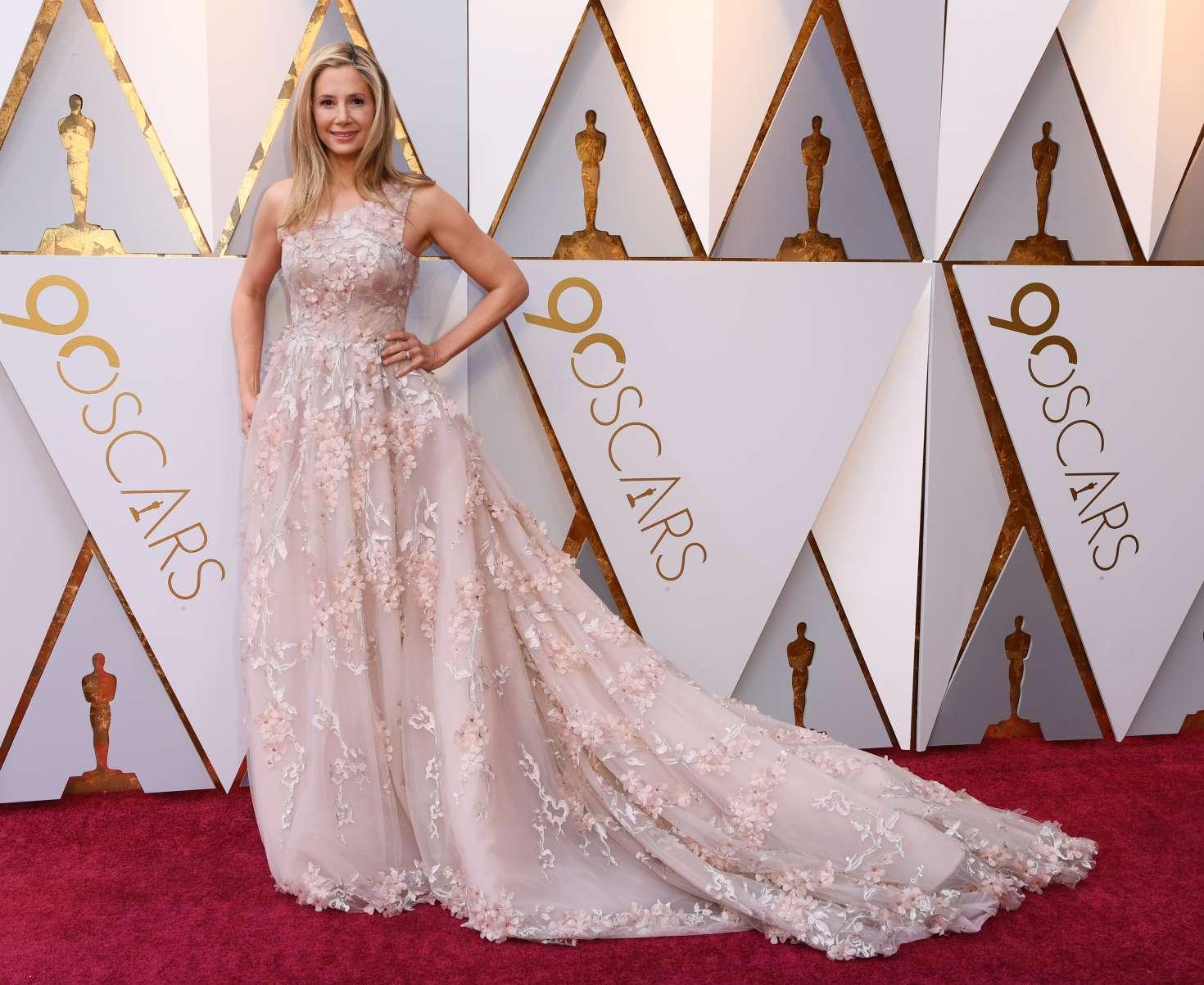 Mira Sorvino - 2018 Academy Awards in Los Angeles