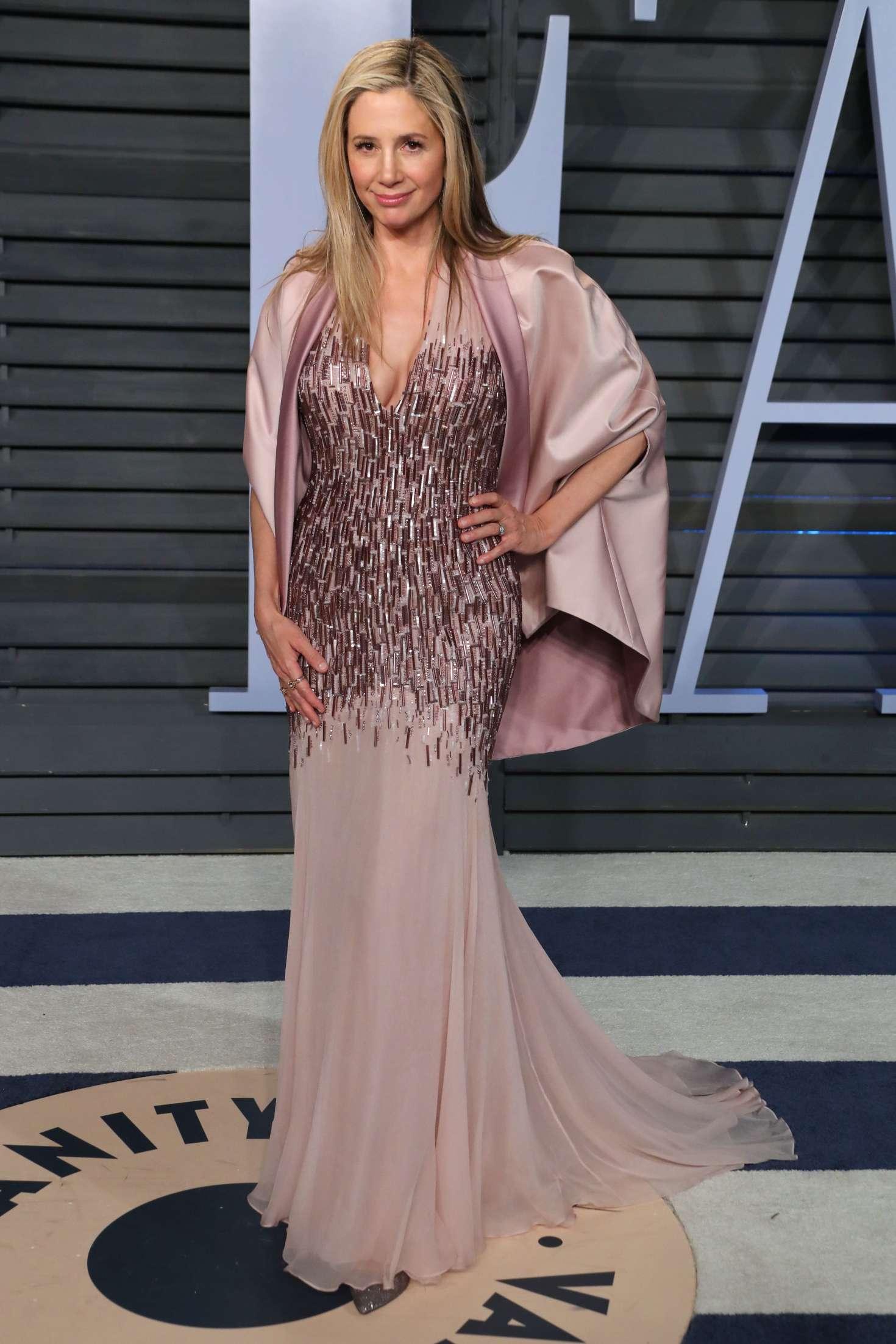 Mira Sorvino 2018 : Mira Sorvino: 2018 Vanity Fair Oscar Party -01