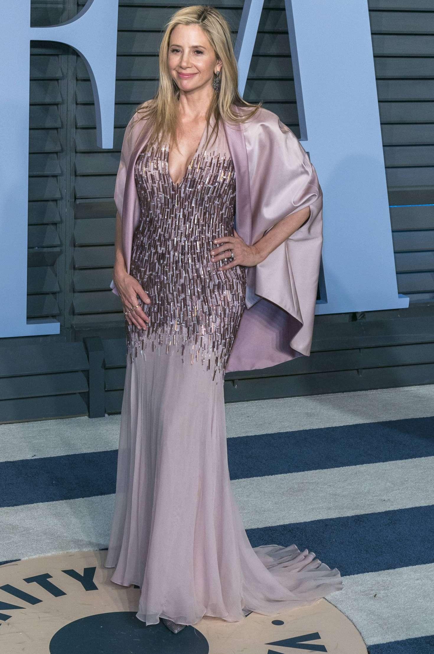 Mira Sorvino 2018 : Mira Sorvino: 2018 Vanity Fair Oscar Party -02