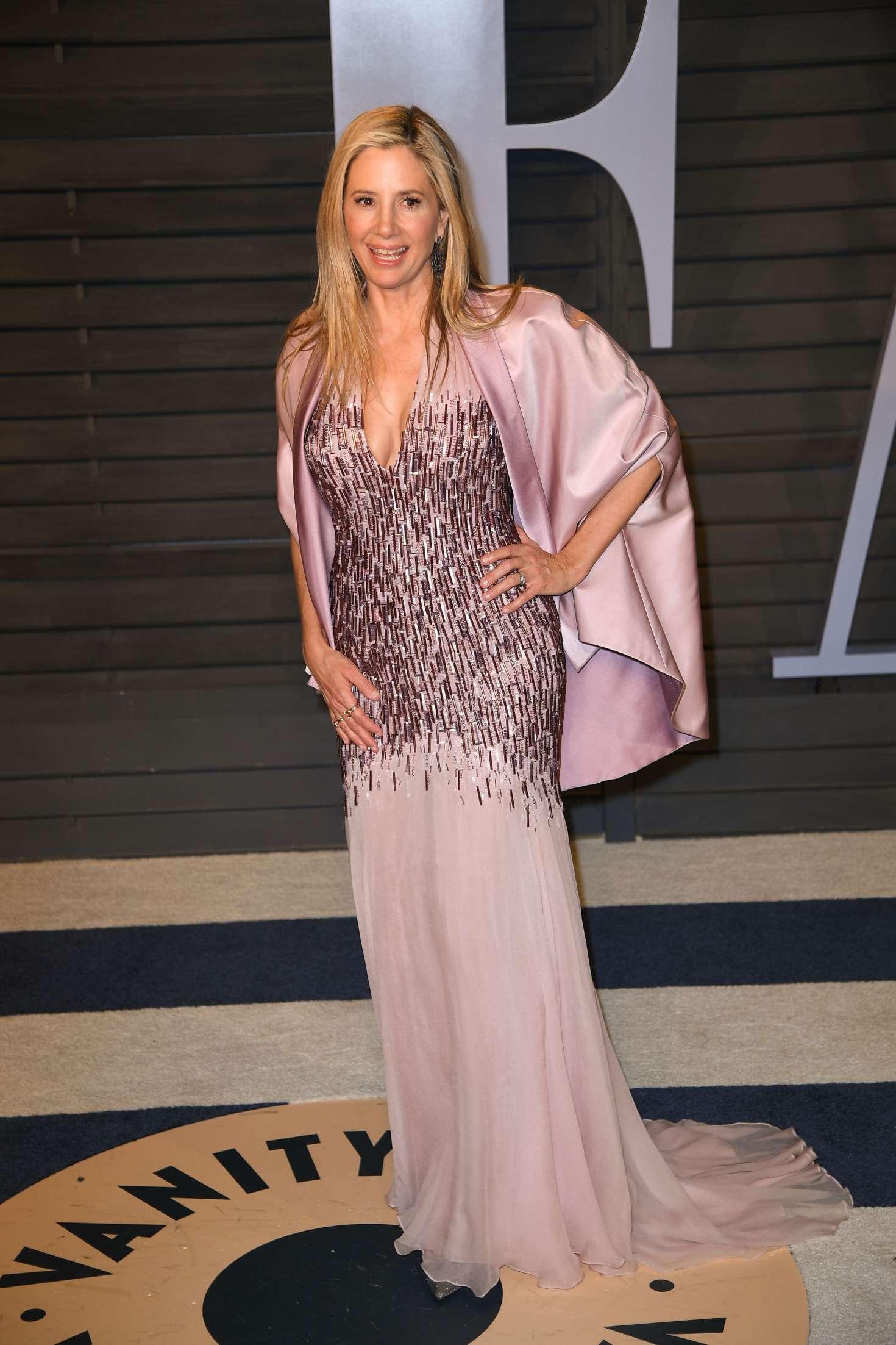 Mira Sorvino 2018 : Mira Sorvino: 2018 Vanity Fair Oscar Party -04
