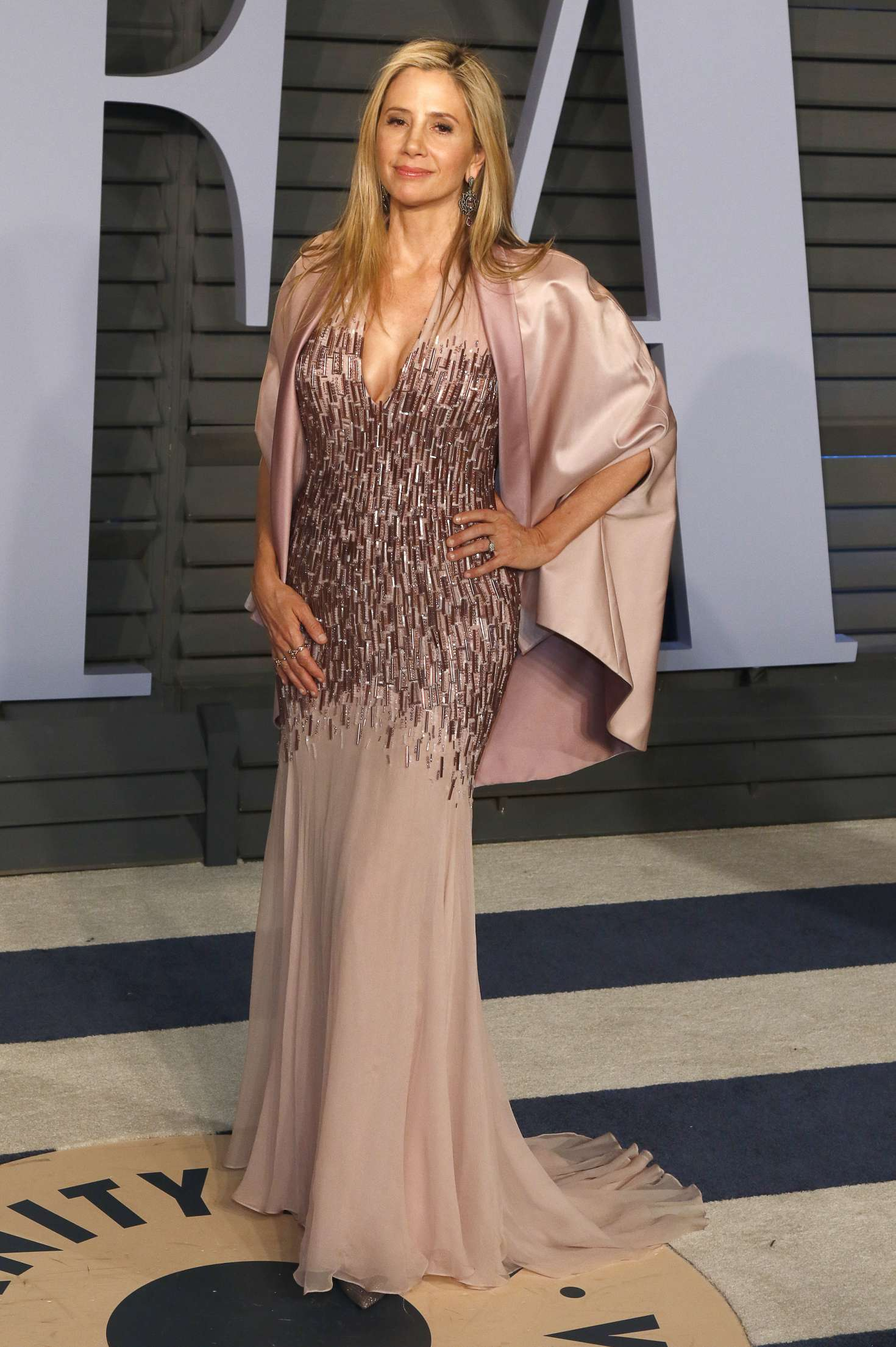 Mira Sorvino 2018 : Mira Sorvino: 2018 Vanity Fair Oscar Party -07