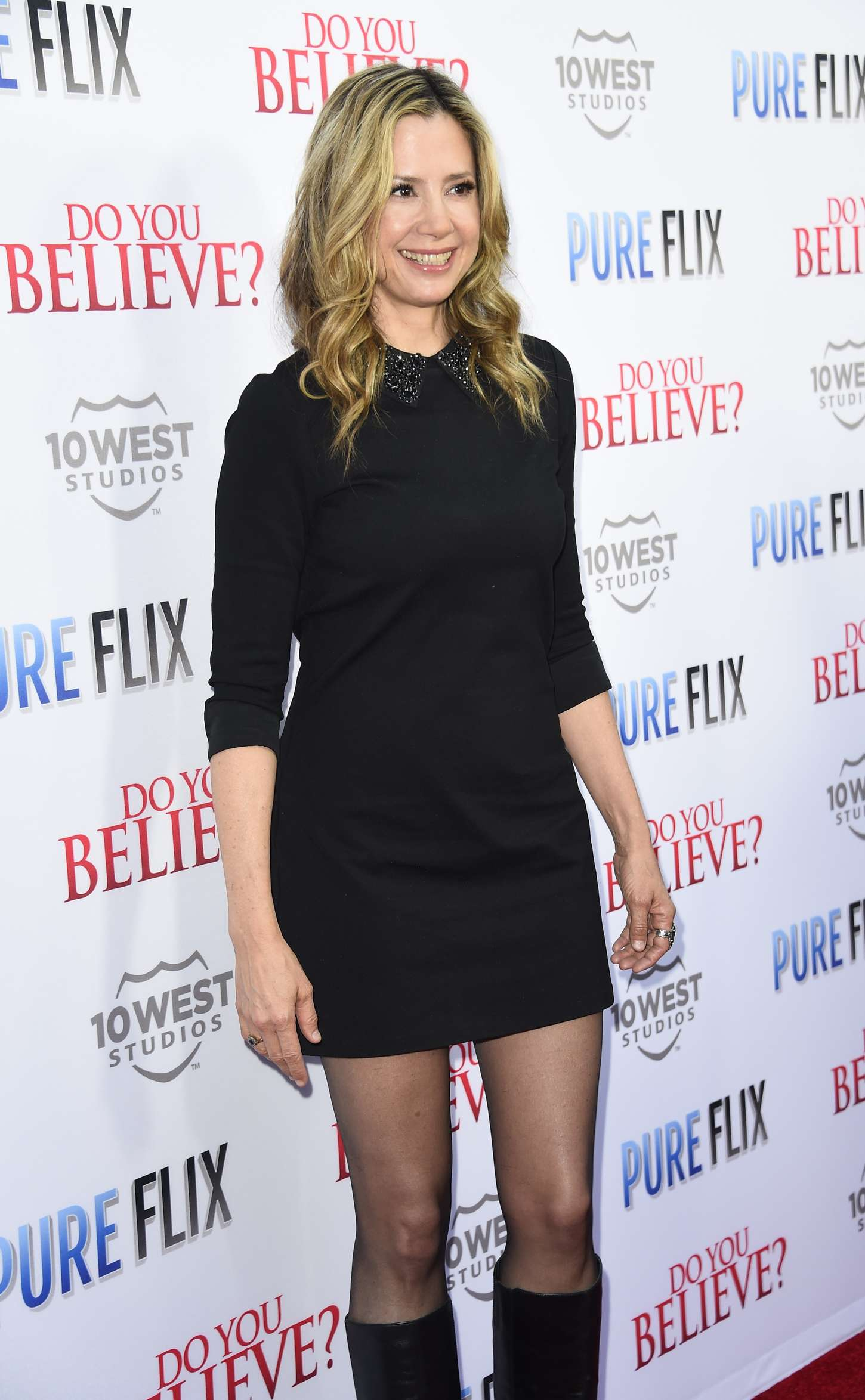 """Mira Sorvino - """"Do You Believe?"""" Premiere in Hollywood"""