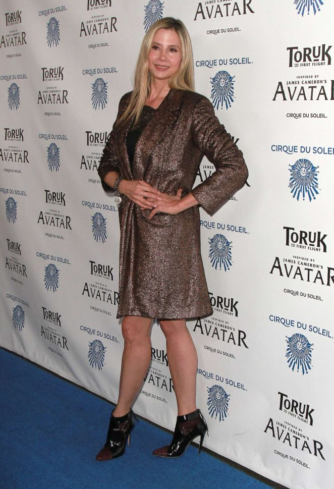 Mira Sorvino: Toruk The First Flight Opening Night -04