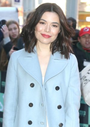 Miranda Cosgrove - Arrives at AOLBuild studios in New York City
