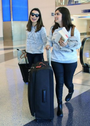 Miranda Cosgrove - LAX Airport in LA