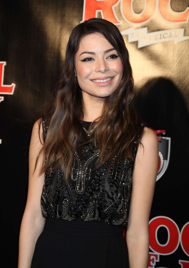 Miranda Cosgrove - 'School Of Rock' Broadway Opening Night in New York