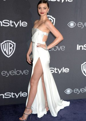 Miranda Kerr - 2017 InStyle and Warner Bros Golden Globes After Party in LA
