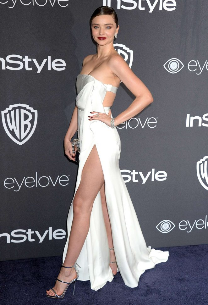 Miranda Kerr – 2017 InStyle and Warner Bros Golden Globes After Party in LA