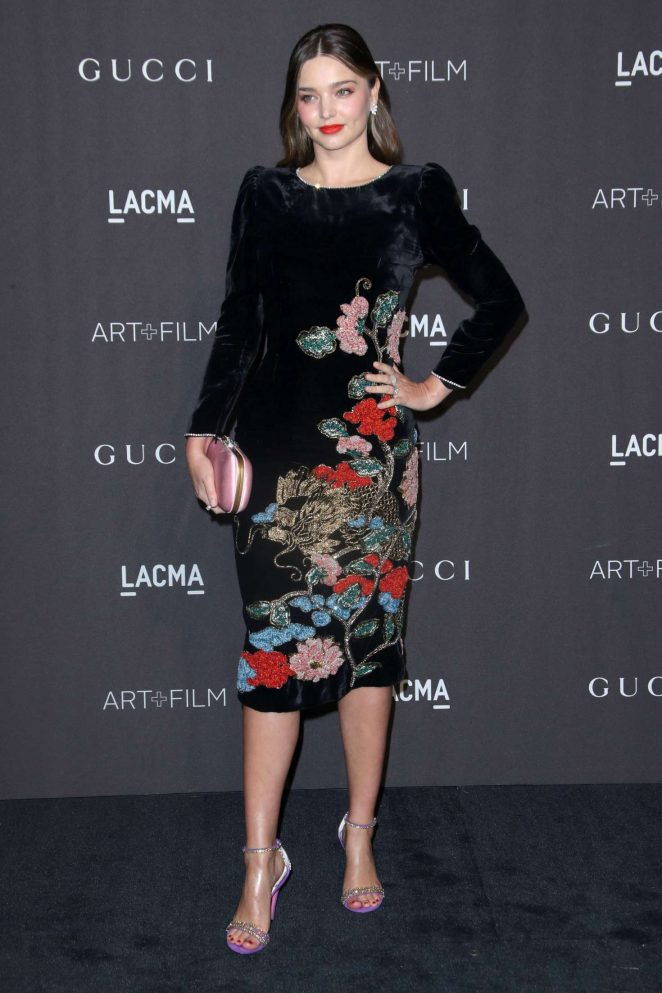 Miranda Kerr - 2018 LACMA Art+Film Gala in Los Angeles