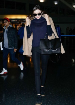 Miranda Kerr - Arrives at JFK Airport in NYC