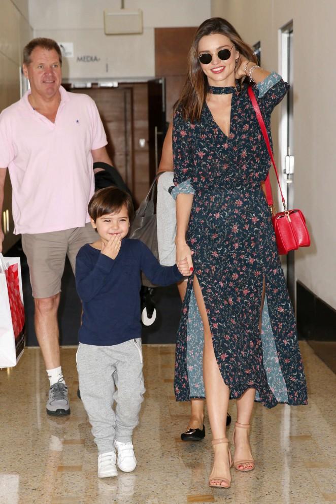 Miranda Kerr: Arrives at Sydney Airport -01