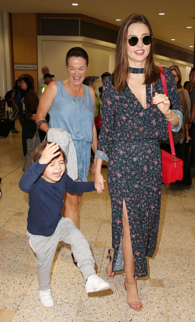 Miranda Kerr: Arrives at Sydney Airport -02