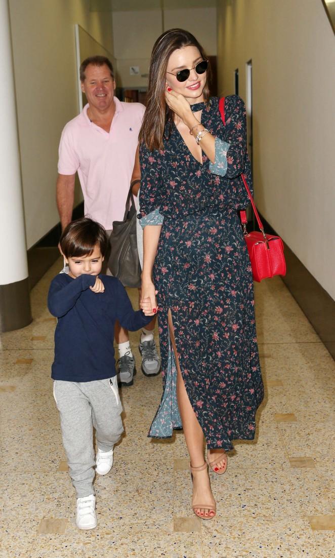 Miranda Kerr: Arrives at Sydney Airport -10