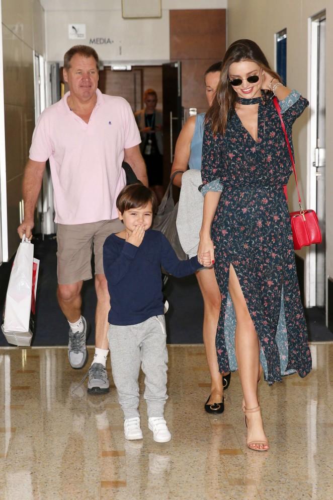 Miranda Kerr: Arrives at Sydney Airport -11