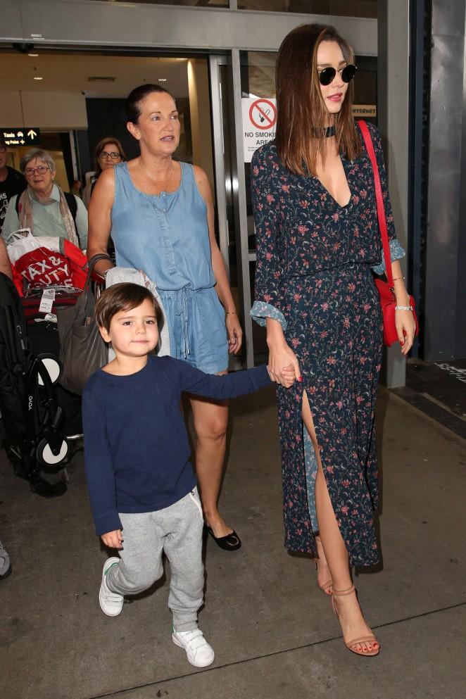 Miranda Kerr: Arrives at Sydney Airport -13