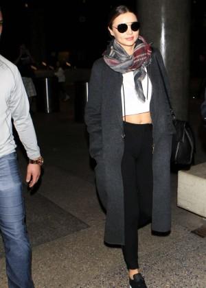 Miranda Kerr - Arriving at LAX in LA