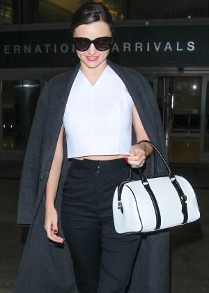 Miranda Kerr at LAX Airport in LA
