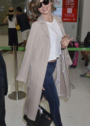 Miranda Kerr at Narita International Airport in Japan