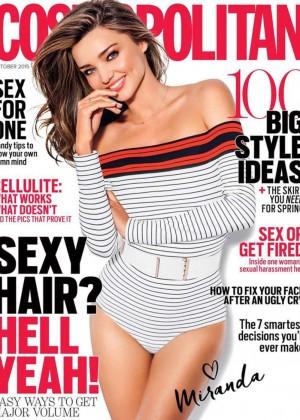Miranda Kerr - Cosmopolitan Australia Cover (October 2015)