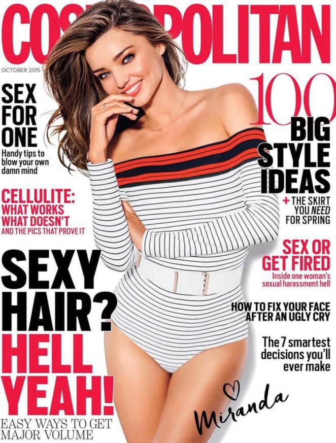 Miranda Kerr – Cosmopolitan Australia Cover (October 2015)