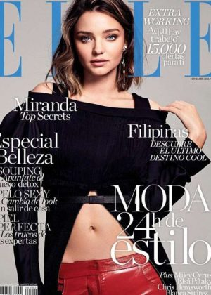 Miranda Kerr - Elle Magazine Cover (November 2016)