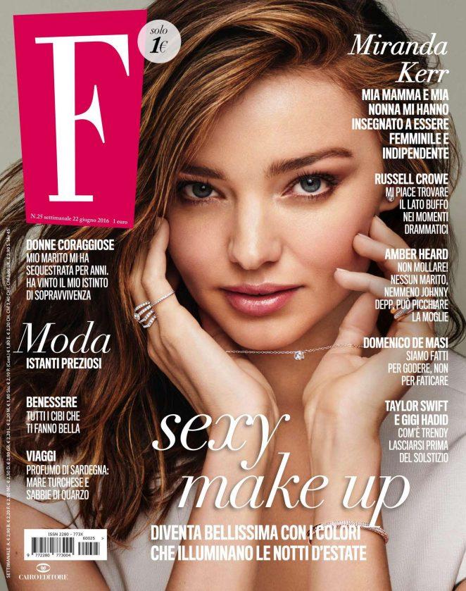 Miranda Kerr - F Magazine (June 2016)