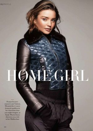 Miranda Kerr - Fashion Quarterly (Winter 2017)