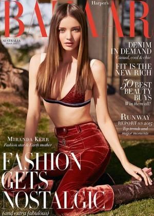 Miranda Kerr - Harper's Bazaar Australia Magazine (March 2015)
