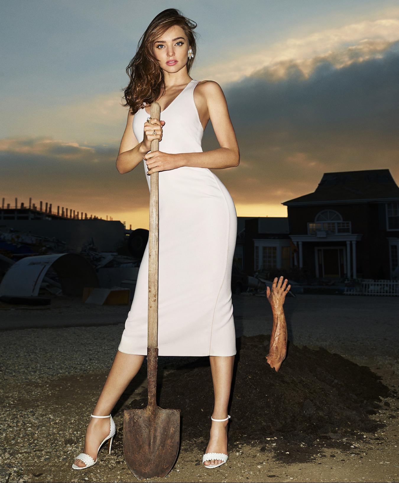 Miranda Kerr – Harper's Bazaar Magazine (October 2015 ... миранда керр