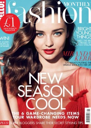 Miranda Kerr - HELLO! Fashion Cover (September 2015)