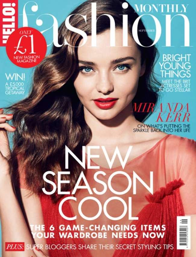 Miranda Kerr - HELLO! Fashion Cover (September 2015)
