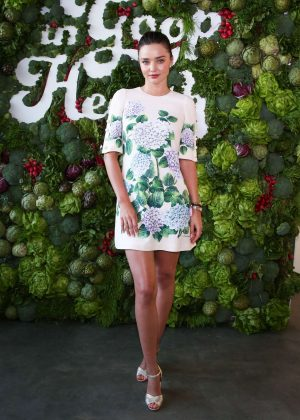 Miranda Kerr - 'In Goop Health' Event in Los Angeles