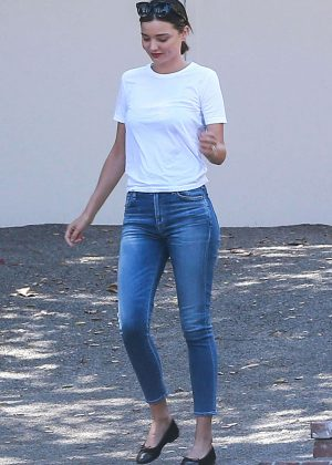 Miranda Kerr in Tight Jeans out in Los Angeles