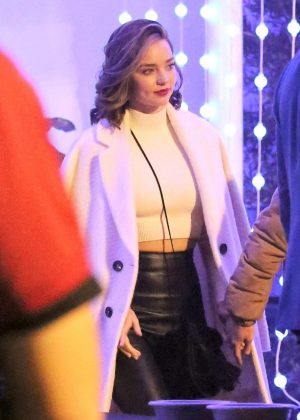 Miranda Kerr - Kings of Leon Concert at The Forum in Inglewod