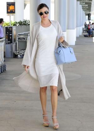 Miranda Kerr - LAX airport in LA