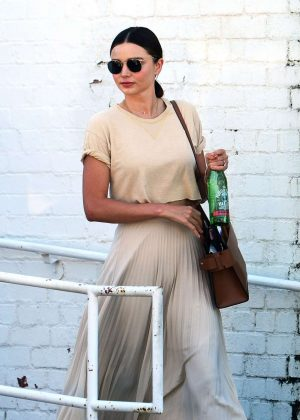 Miranda Kerr - Leaves a Doctor Office in Los Angeles
