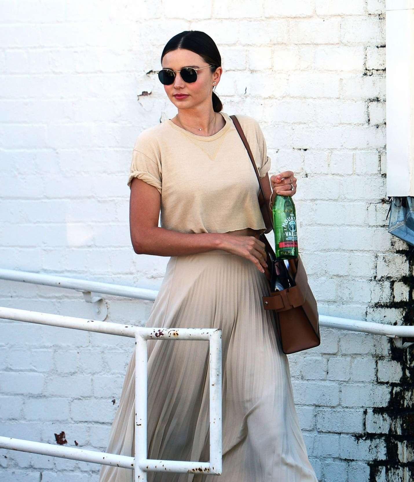 Miranda Kerr - Leaves a Doctor Office in Los Angeles